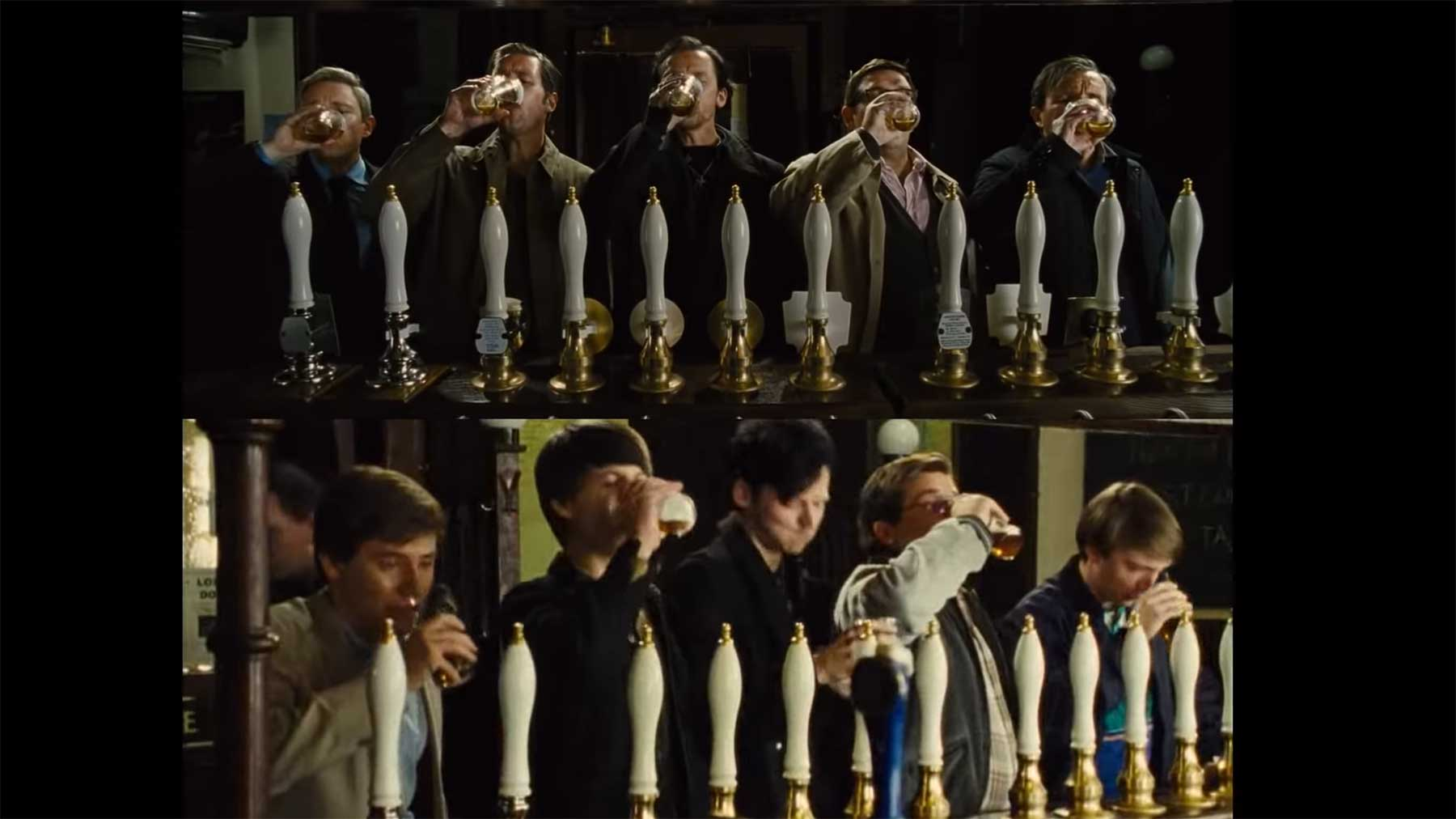 """The World's End"": Vergleich Opening vs. Filmhandlung"