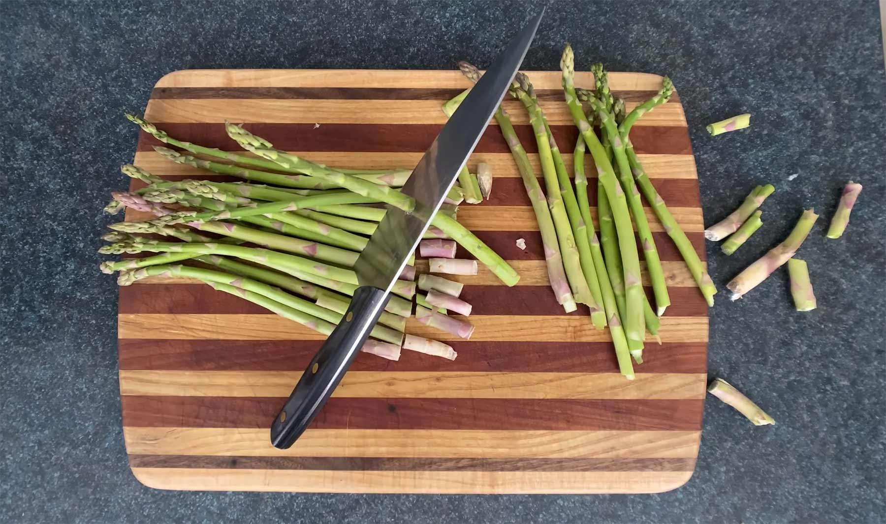 You Suck at Cooking Episode 105: Baked Asparagus