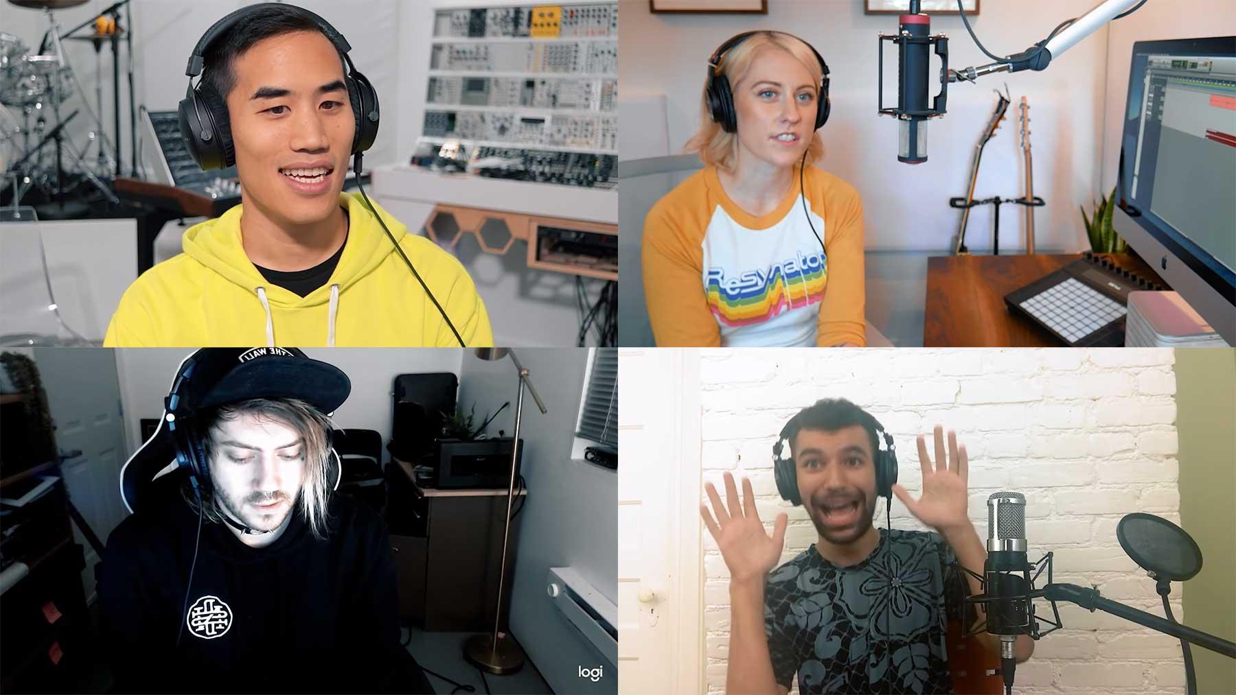 4 MusikproduzentInnen 1 Sample #7 4-PRODUCERS-FLIP-THE-SAME-SAMPLE-7