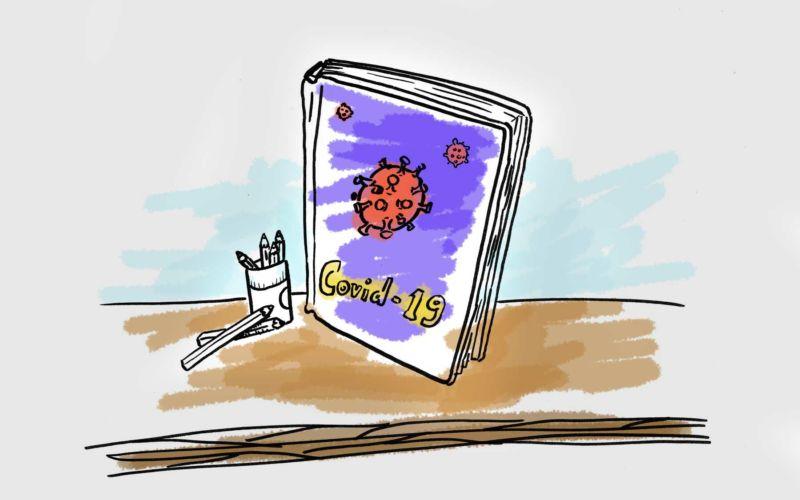 Das Coronavirus-Malbuch für Erwachsene