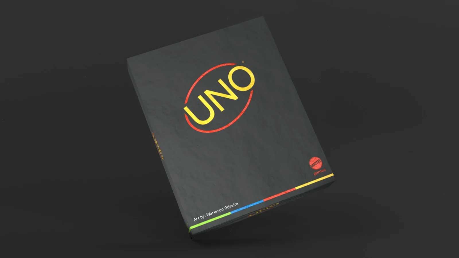 """Minimalistisches """"UNO""""-Kartendeck UNO-minimalista-reduziertes-design_04"""