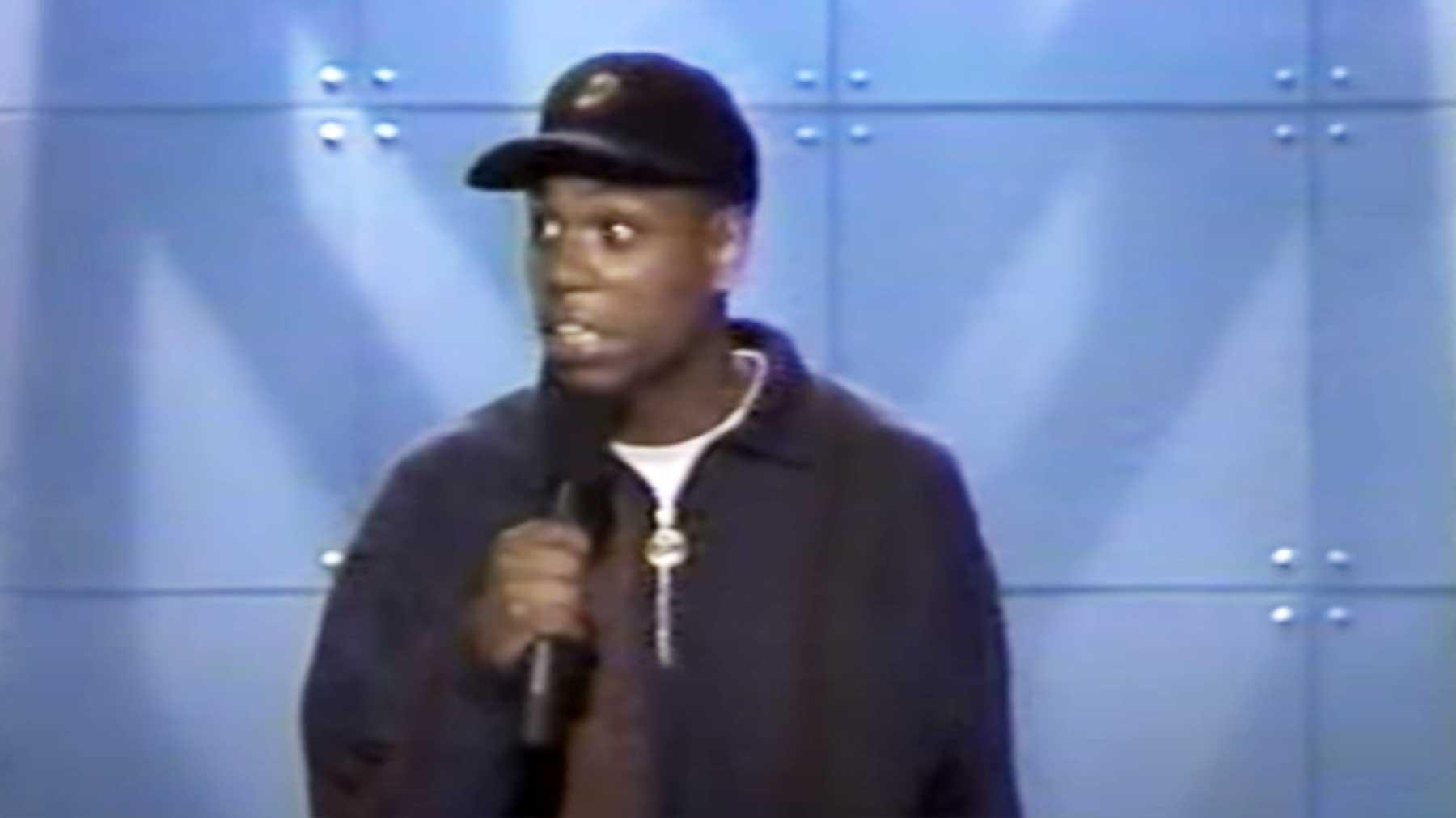 TV-Auftritt eines 19-jährigen Dave Chappelle in 1993