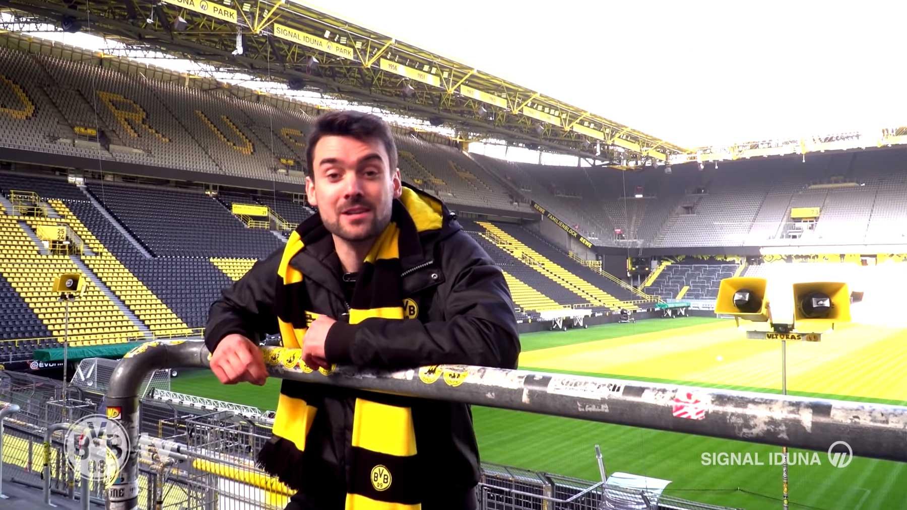 BVB: Virtuelle Tour durch das Westfalenstadion