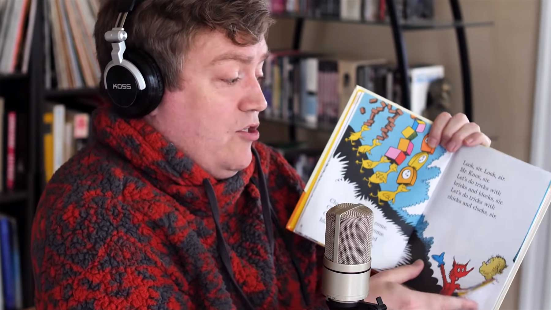 Dr. Seuss-Kinderbuch auf Dr. Dre-Beat gerappt dr-seuss-kinderbuch-gerappt-fox-in-socks