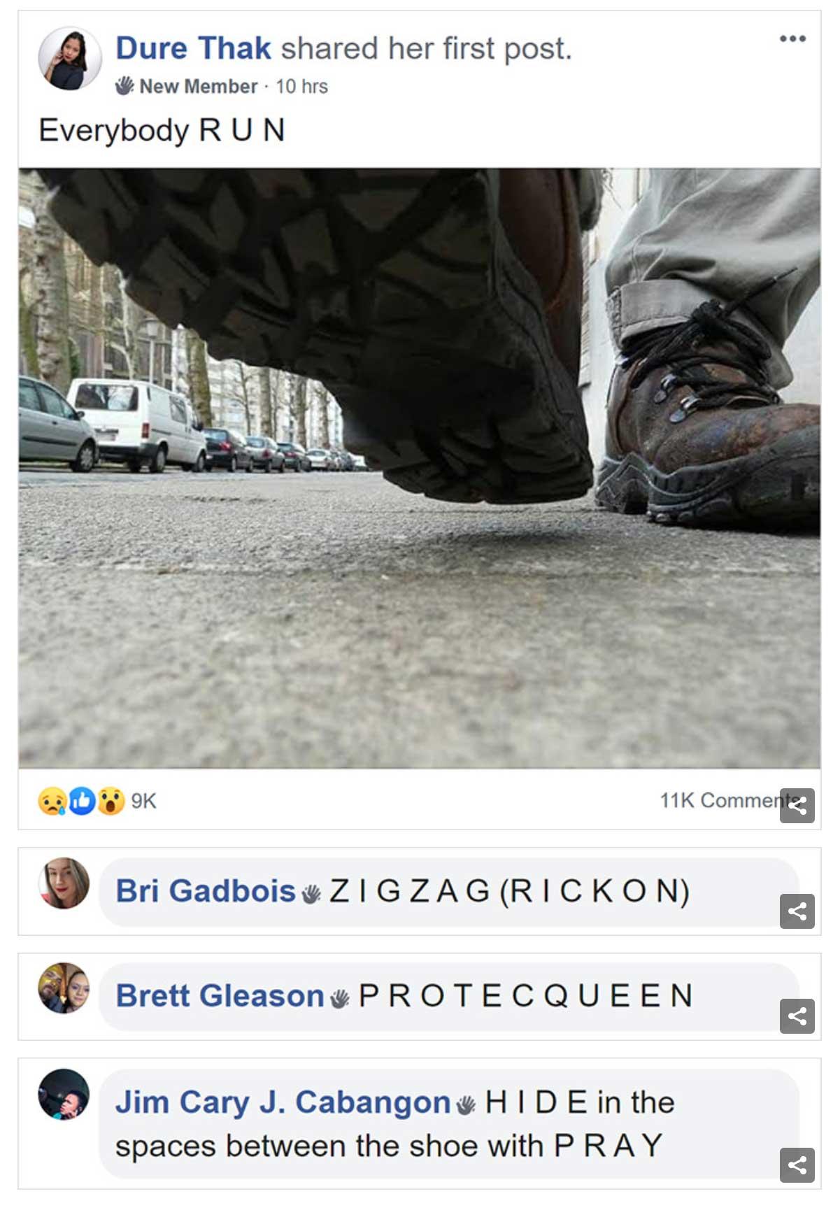 In dieser Facebook-Gruppe tun alle so, als seien sie Ameisen facebook-gruppe-wie-ameisen-tun_03