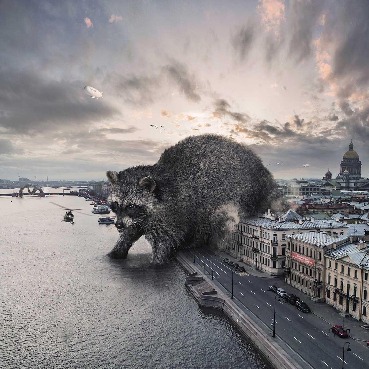 Gigantische Tiere von Vadim Solovyov