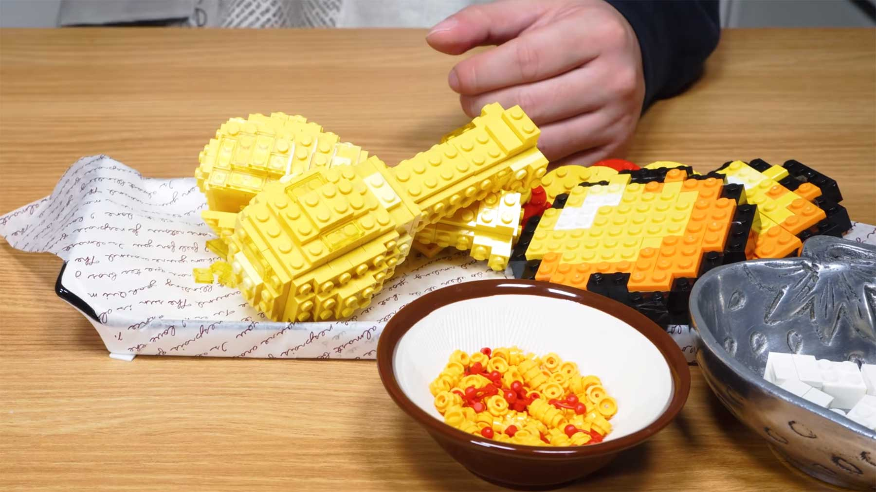 Fried LEGO Chicken