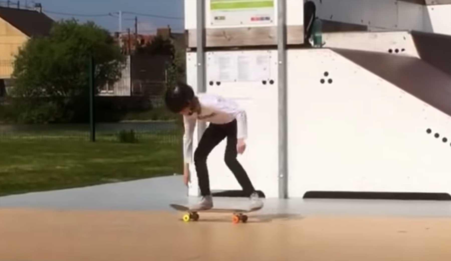 1 Jahre Skateboard-Lernen in 7 Minuten skateboarden-lernen-prozess