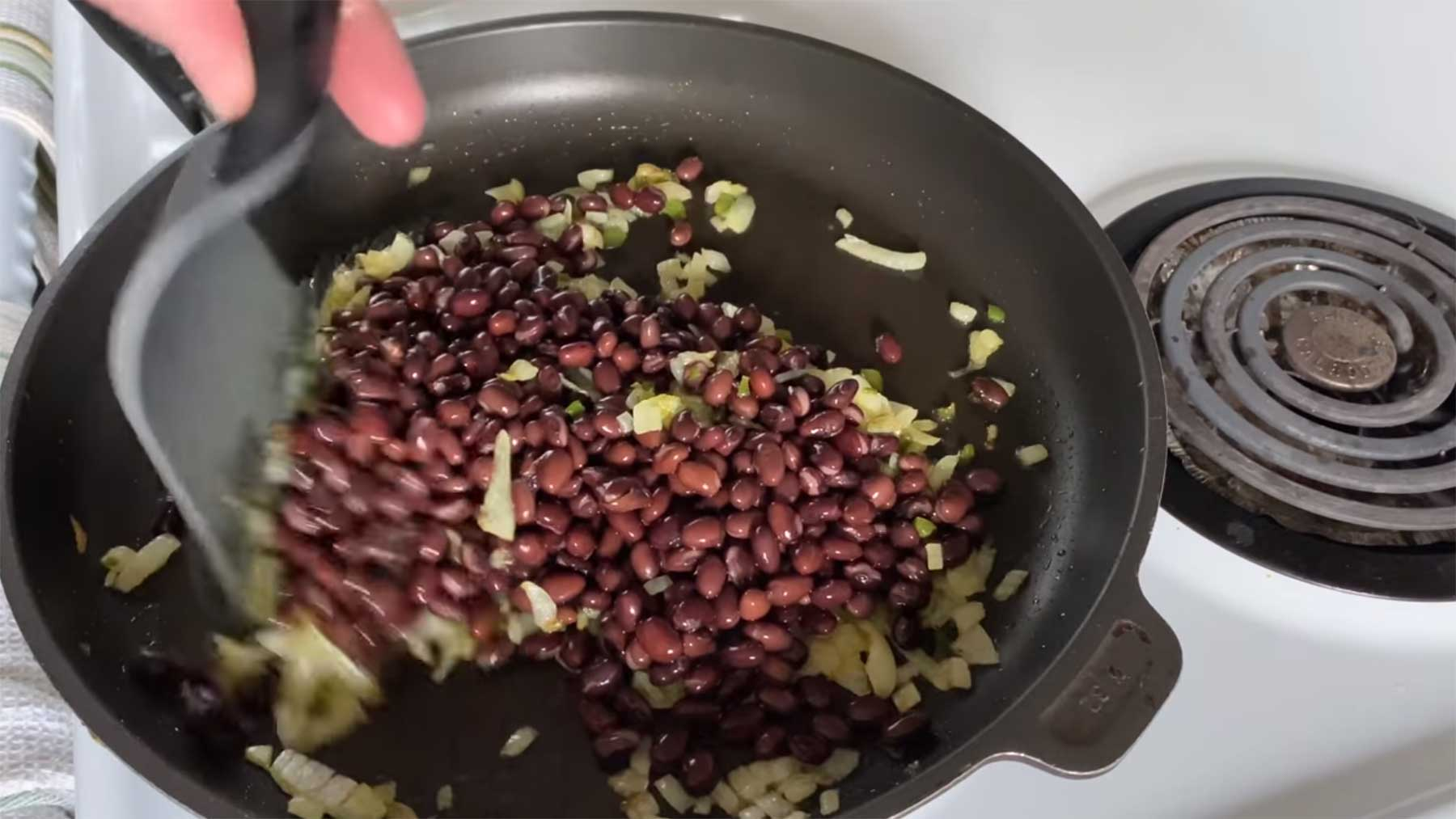 You Suck at Cooking: Panic Fried Black Beans and Rice (Episode 107)