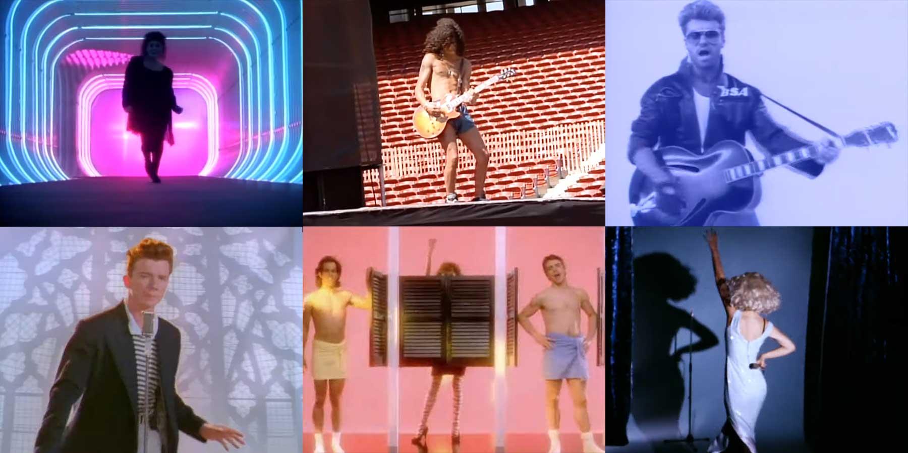 Mashup: Die 50 besten Songs des Jahres 1987 in 3 Minuten