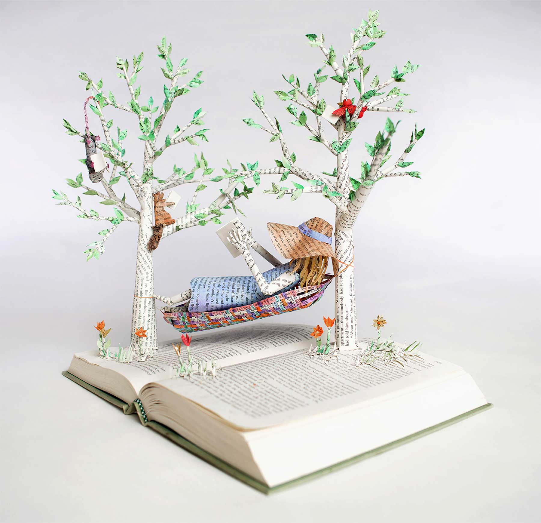 Buchseiten-Dioramen von Bethany Bickley Bethany-Bickley-book-sculptures_02