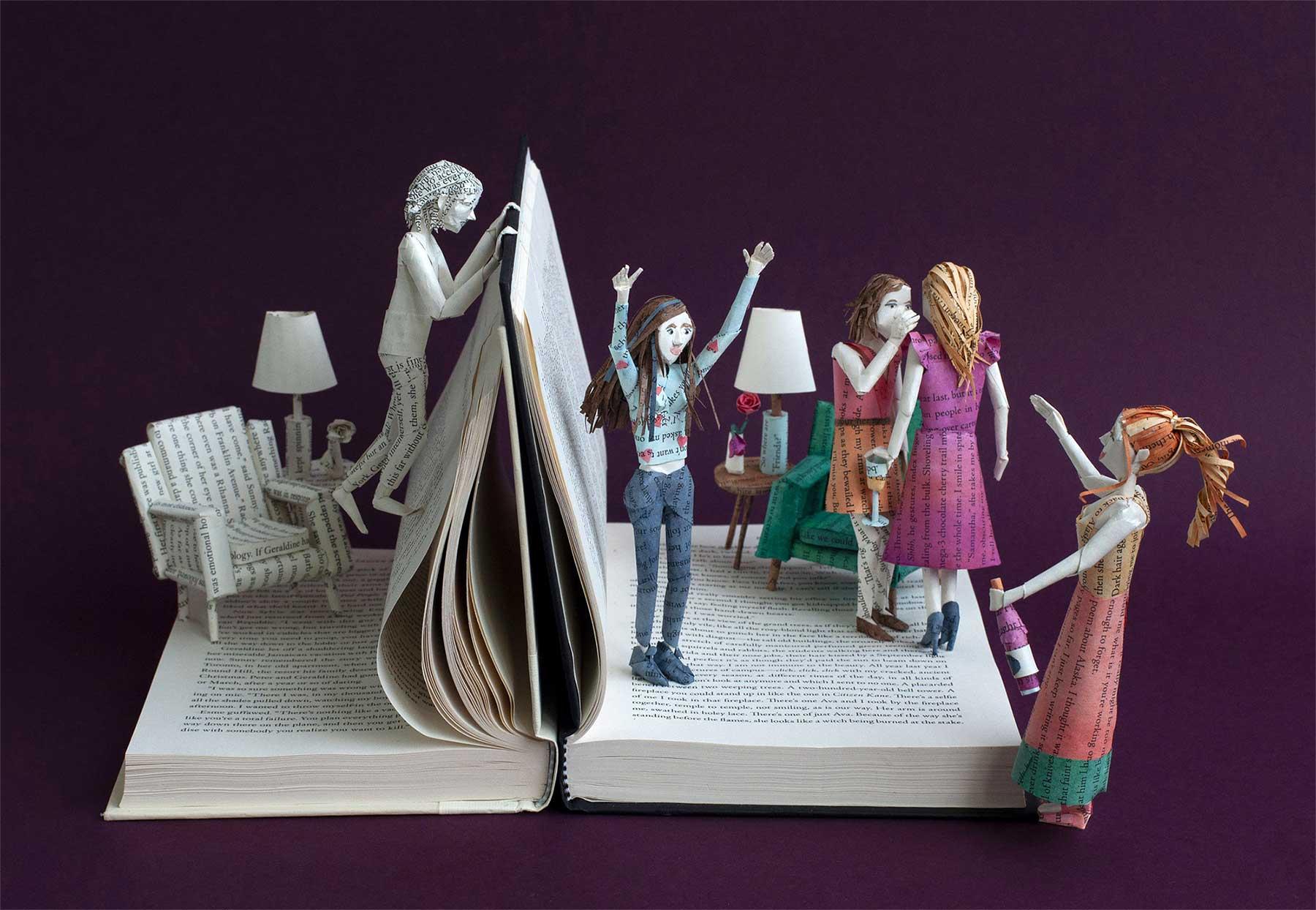 Buchseiten-Dioramen von Bethany Bickley Bethany-Bickley-book-sculptures_04