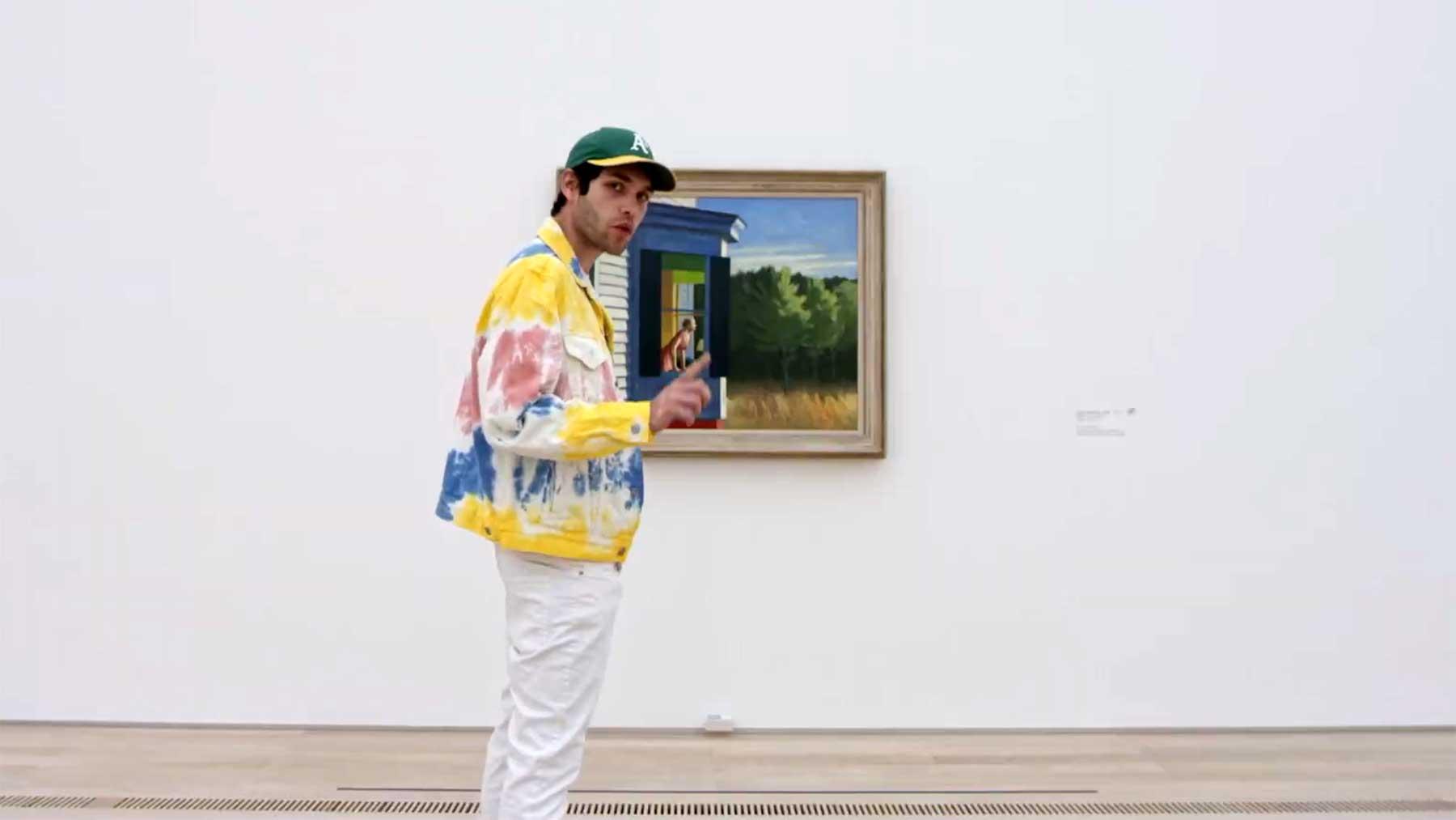 Gerappte Edward-Hopper-Gemälde mit Laurin Buser