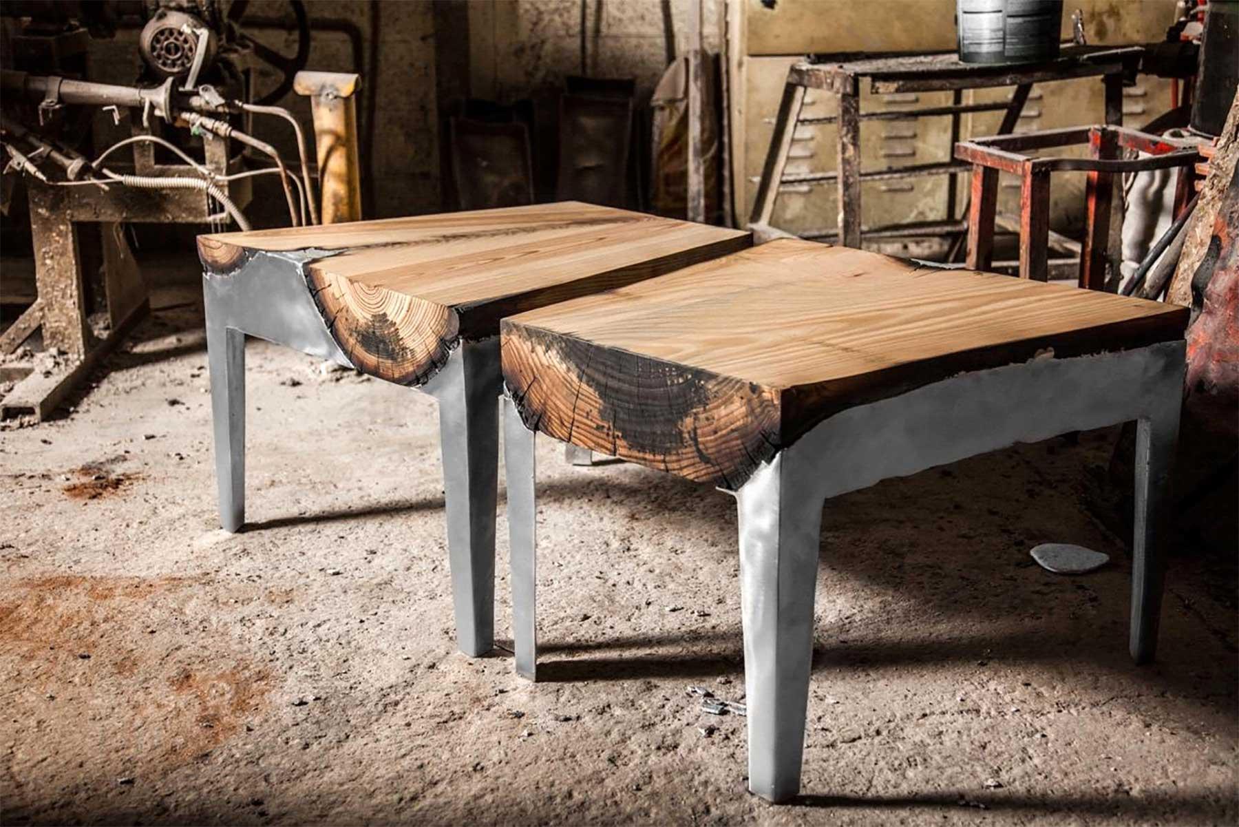 Aluminium-Holz-Möbel von Hilla Shamia Hilla-Shamia-design-studio_03
