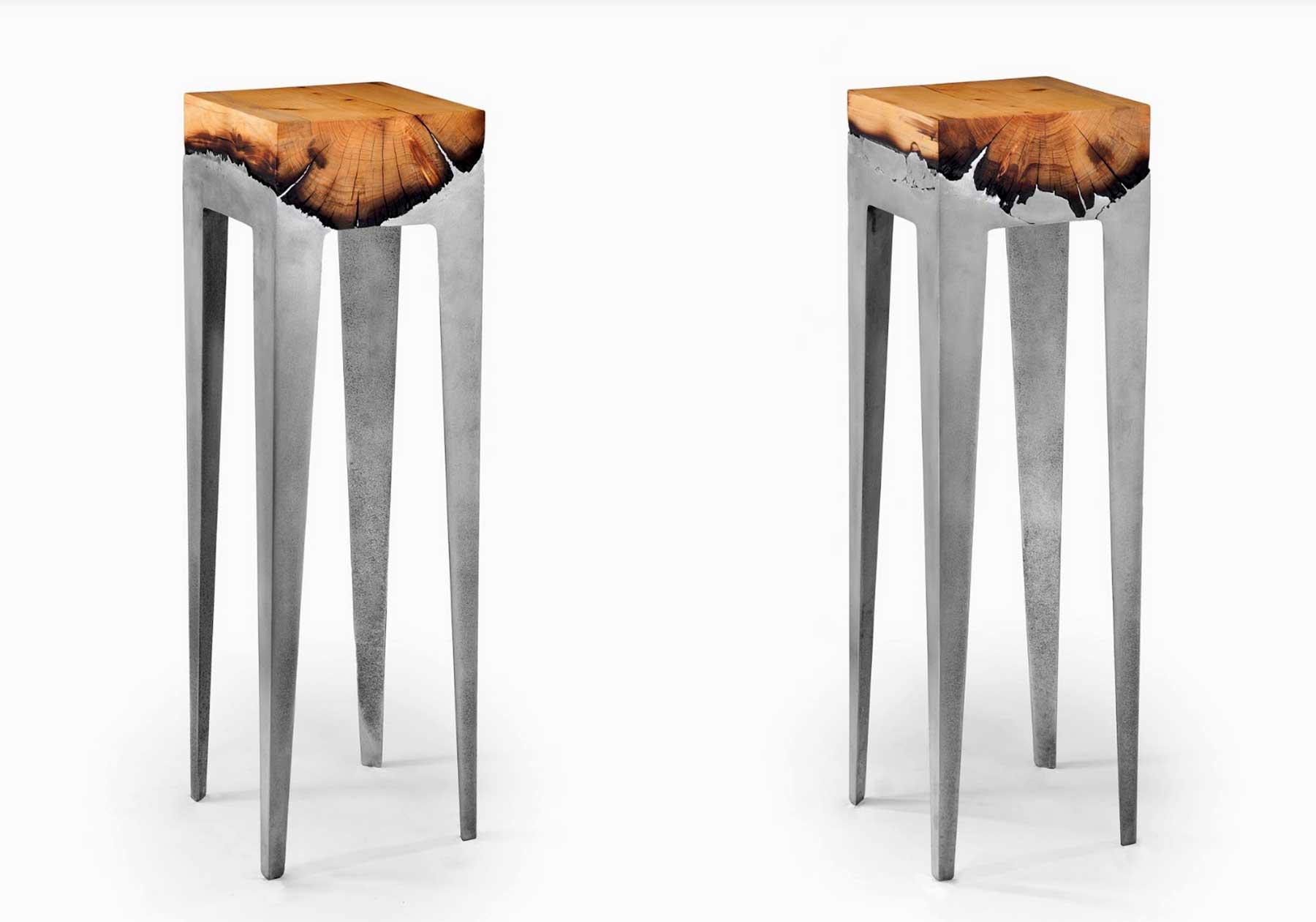 Aluminium-Holz-Möbel von Hilla Shamia Hilla-Shamia-design-studio_04