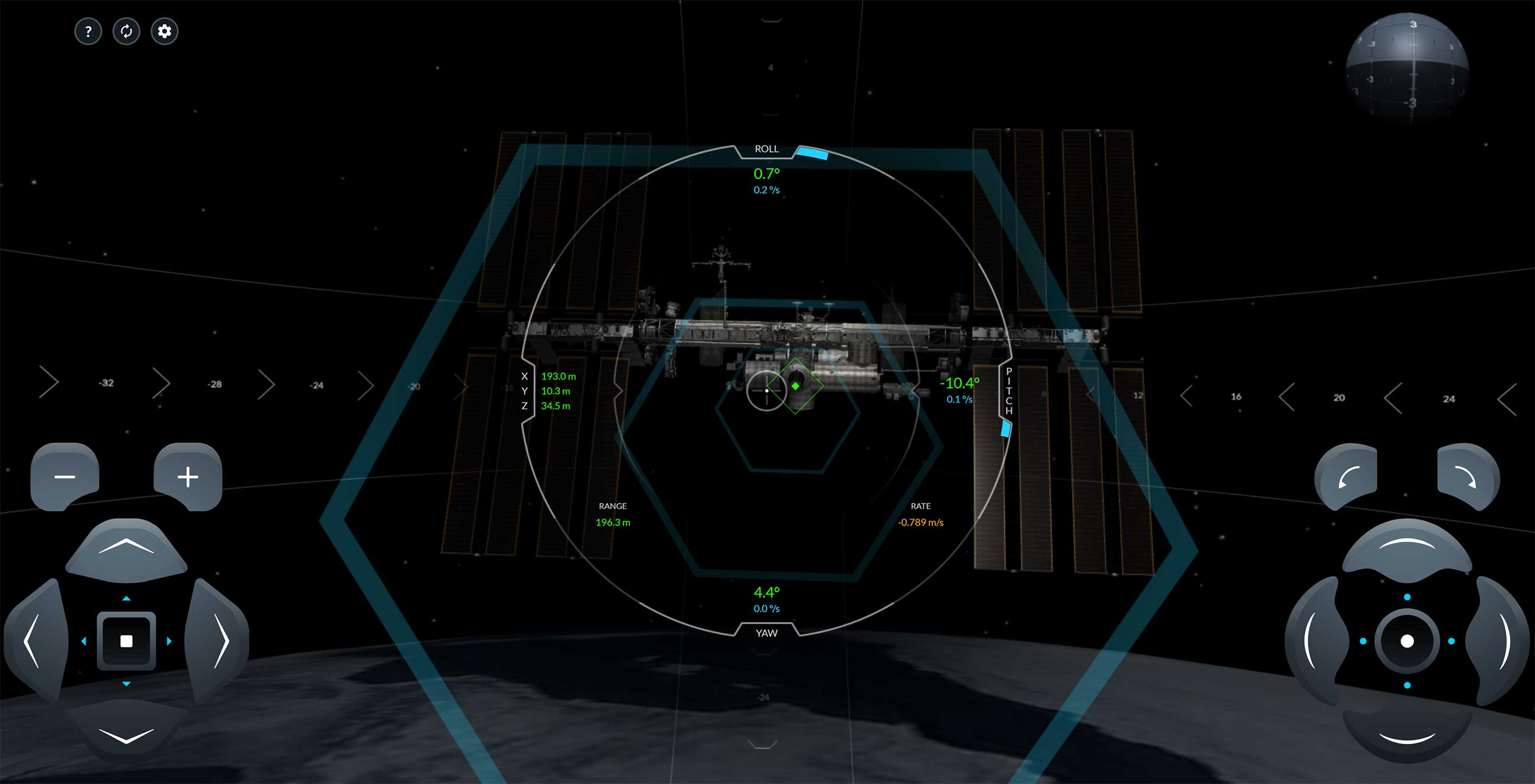 """SPACEX"", der ISS Docking Simulator"