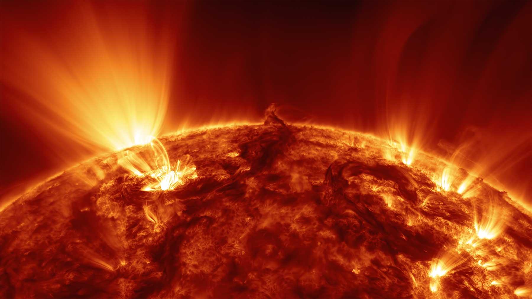 Hochauflösende Aufnahmen unserer Sonne