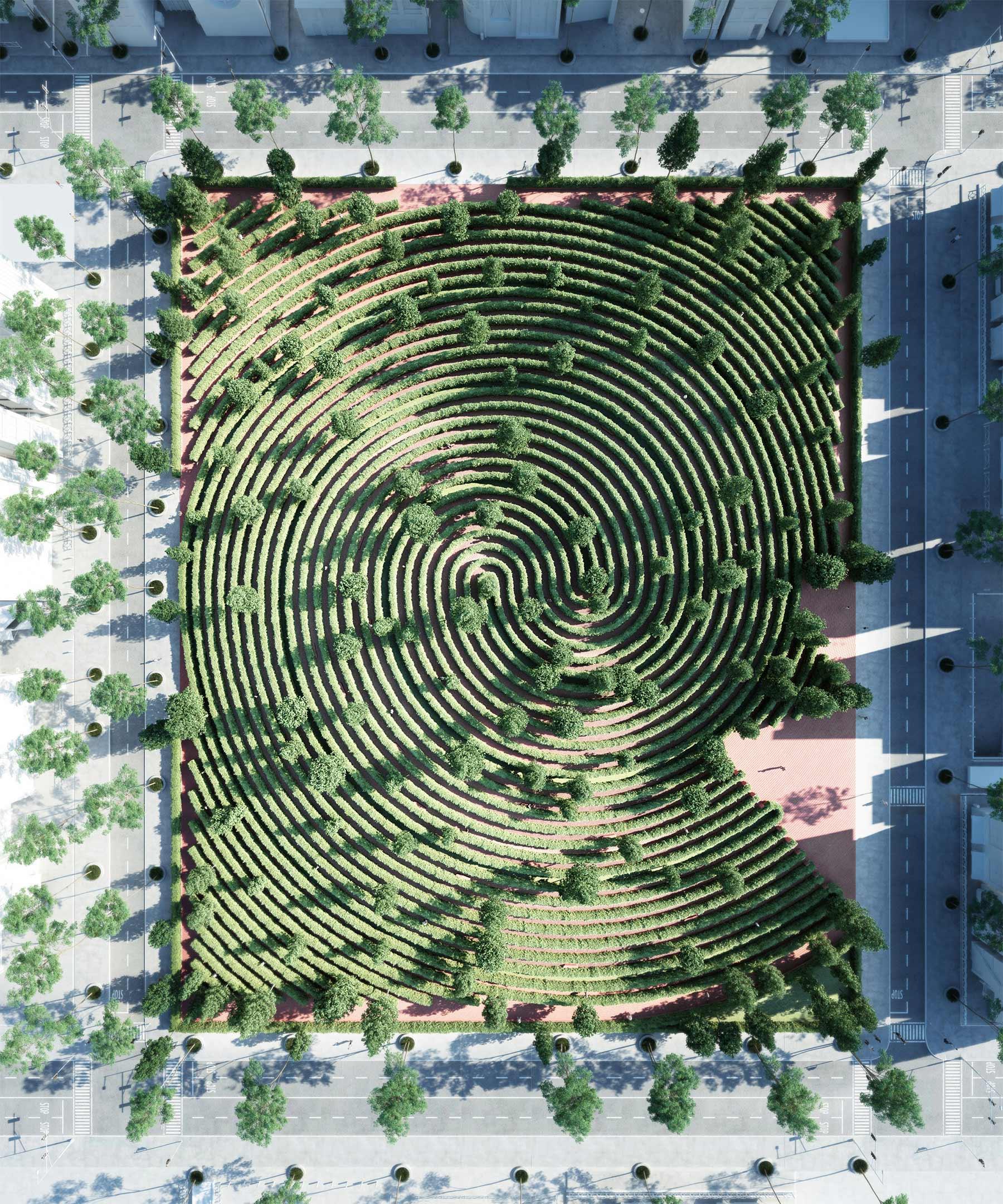 Der perfekte Social-Distancing-Park