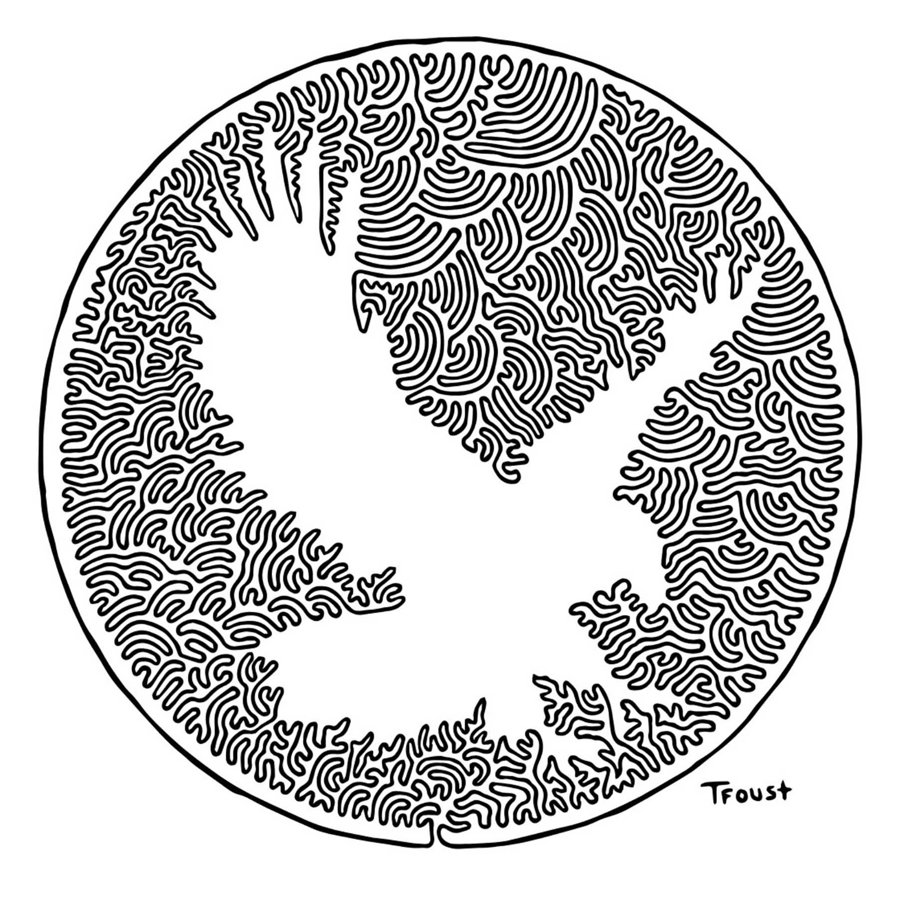 Aus einer Linie gemalte Bilder von Tyler Foust Tyler-Foust-one-line-drawings_03