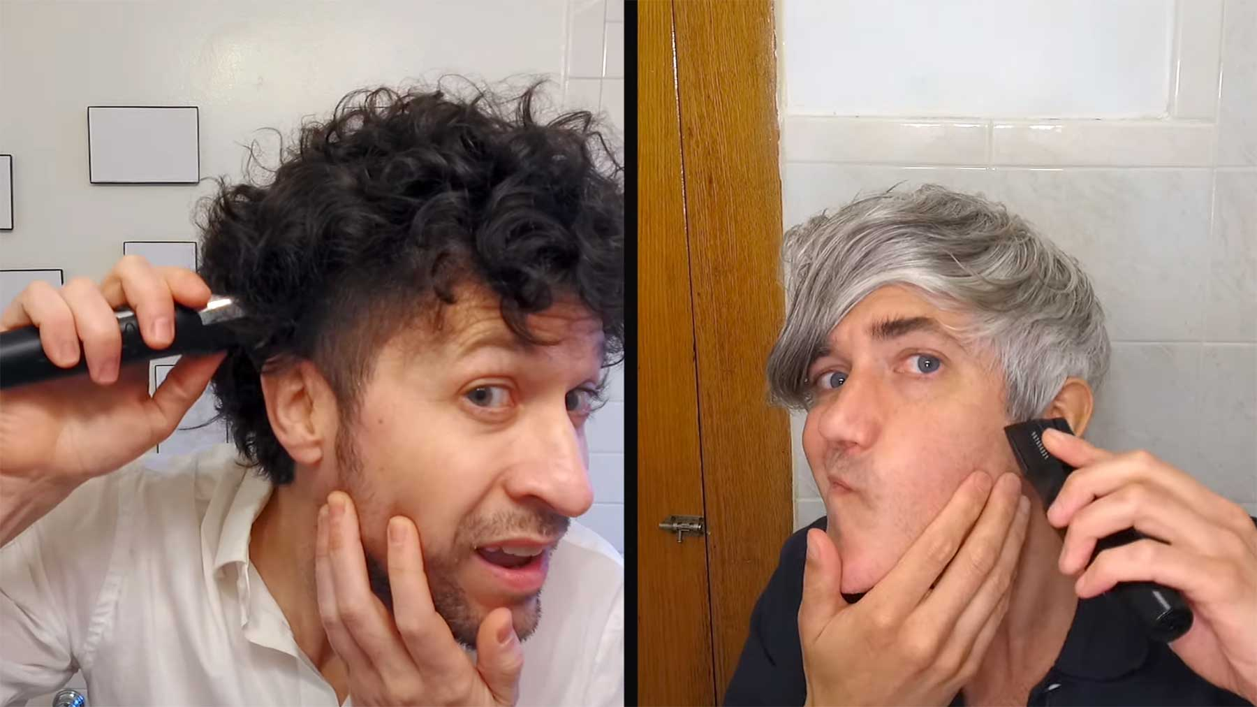 We Are Scientists schneiden sich selbst die Haare We-Are-Scientists-I-Cut-My-Own-Hair-musikvideo