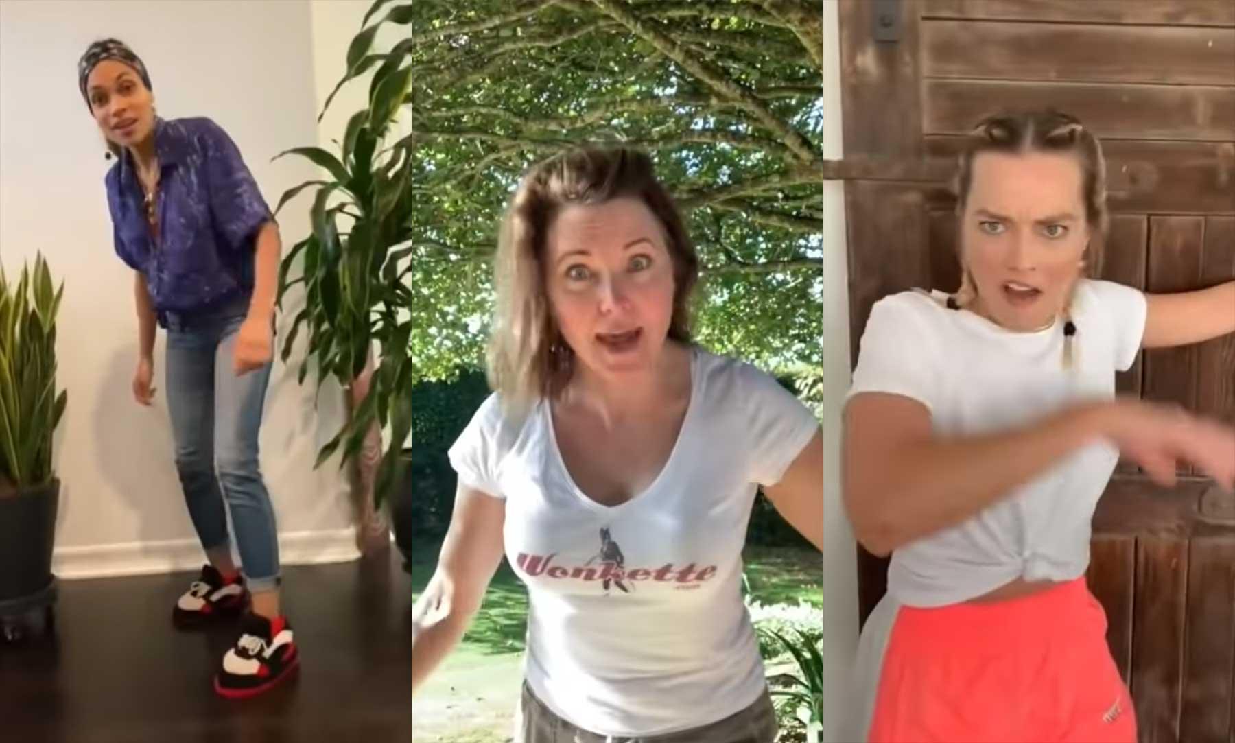 Scarlett Johansson, Cameron Diaz, Halle Berry & Co. prügeln sich in Videokette bossbitchfightchallenge