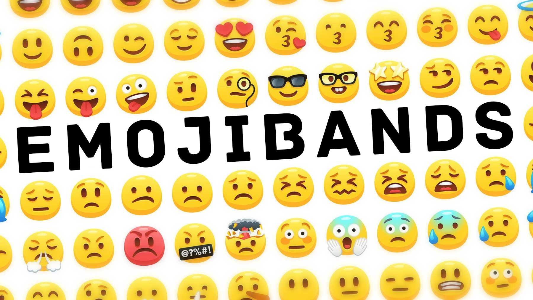 Musik-Acts in Emojis emojibands_00
