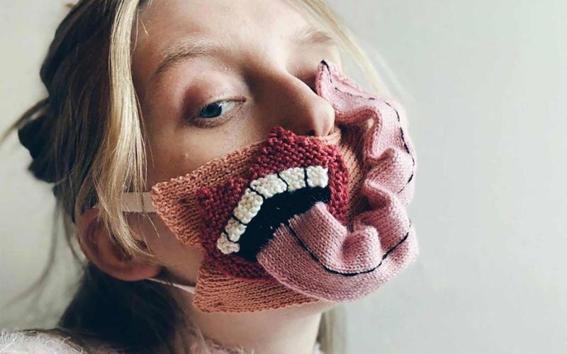 Ausgefallene Mund-Nasen-Masken von Ýrúrarí
