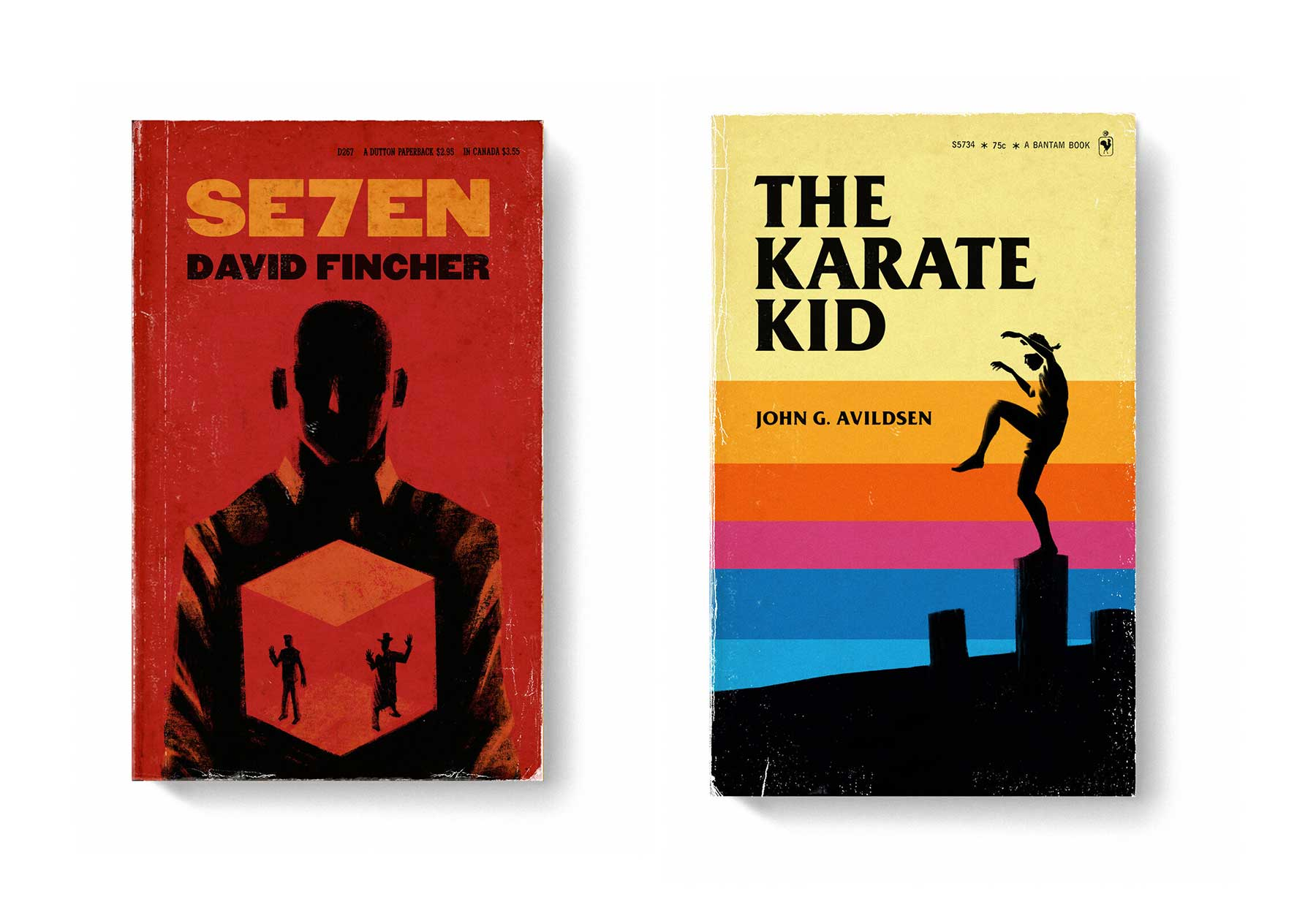 Film-Klassiker als Bücher-Design good-movies-as-old-books-Matt-Stevens_06