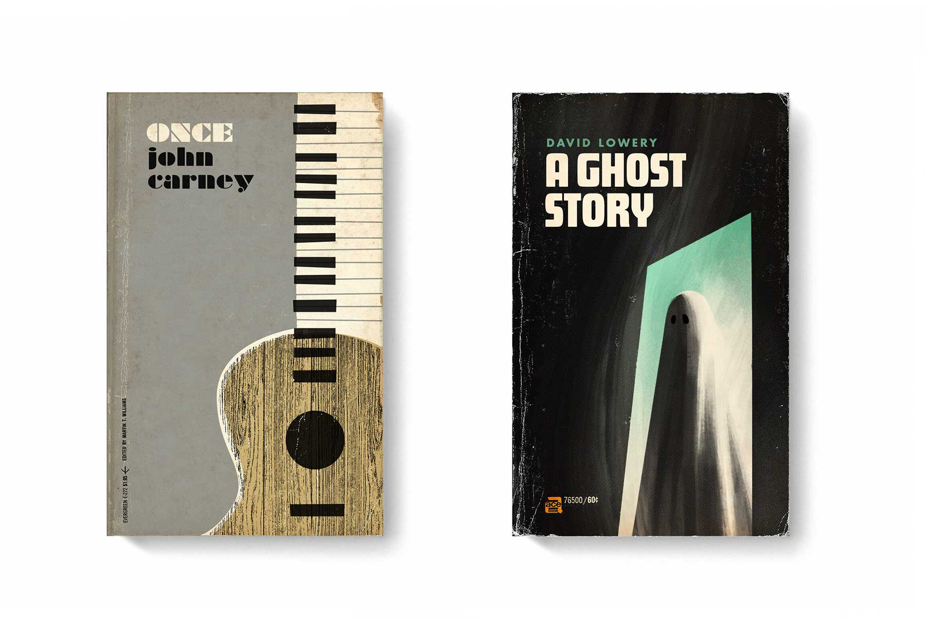 Film-Klassiker als Bücher-Design good-movies-as-old-books-Matt-Stevens_09