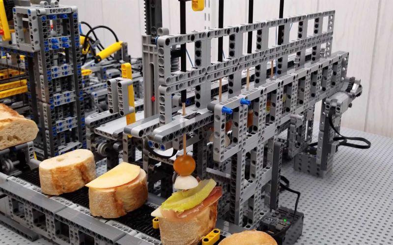 Tapas-Maschine aus LEGO