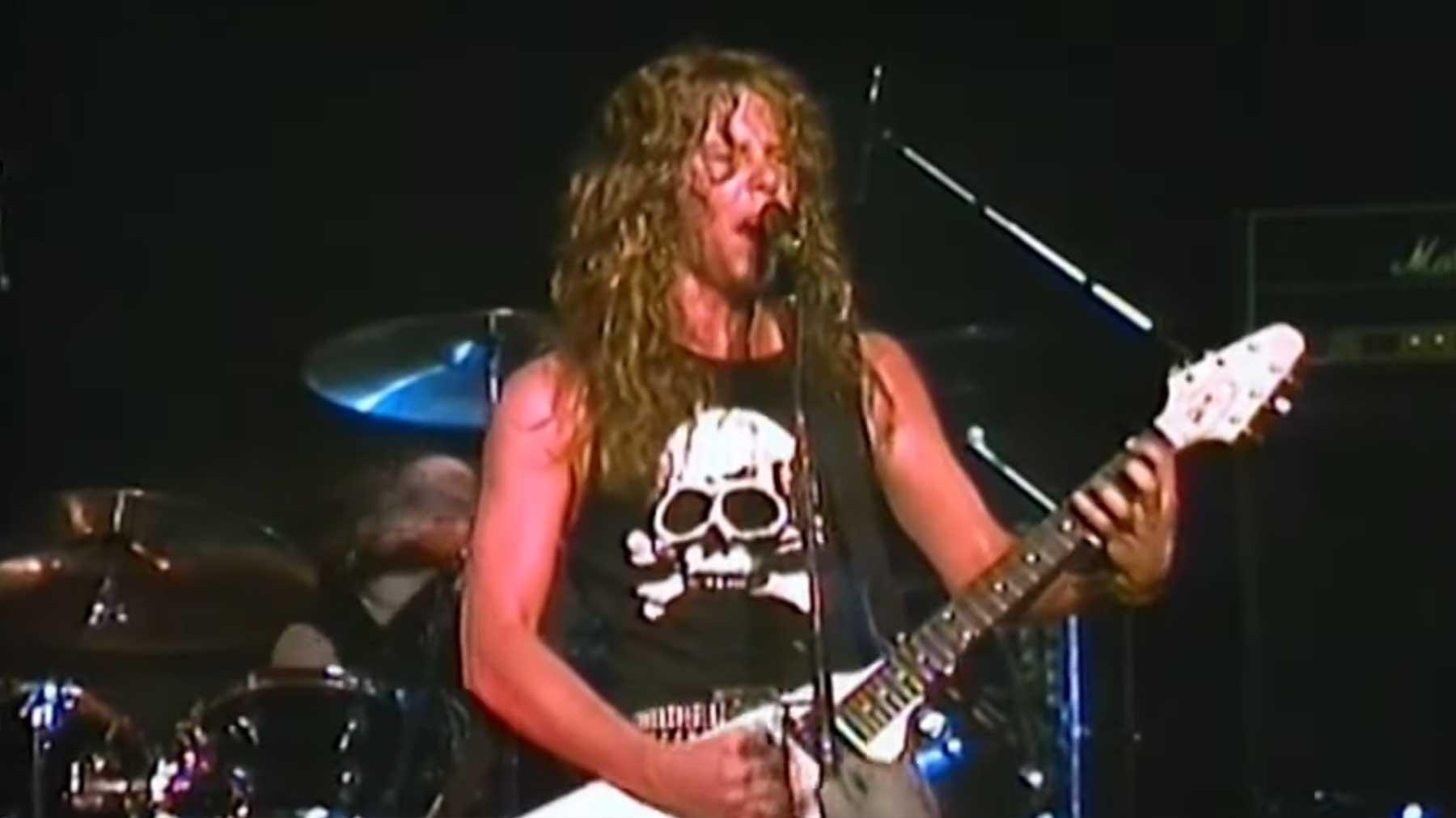 Metallica-Konzert aus dem Jahr 1983