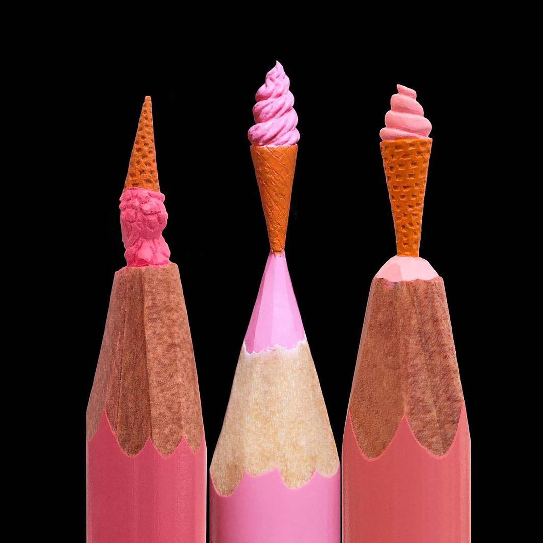 Miniatur-Skultpuren aus Stiftminen von Salavat Fidai minen-miniatur-skulpturen-Salavat-Fidai_03
