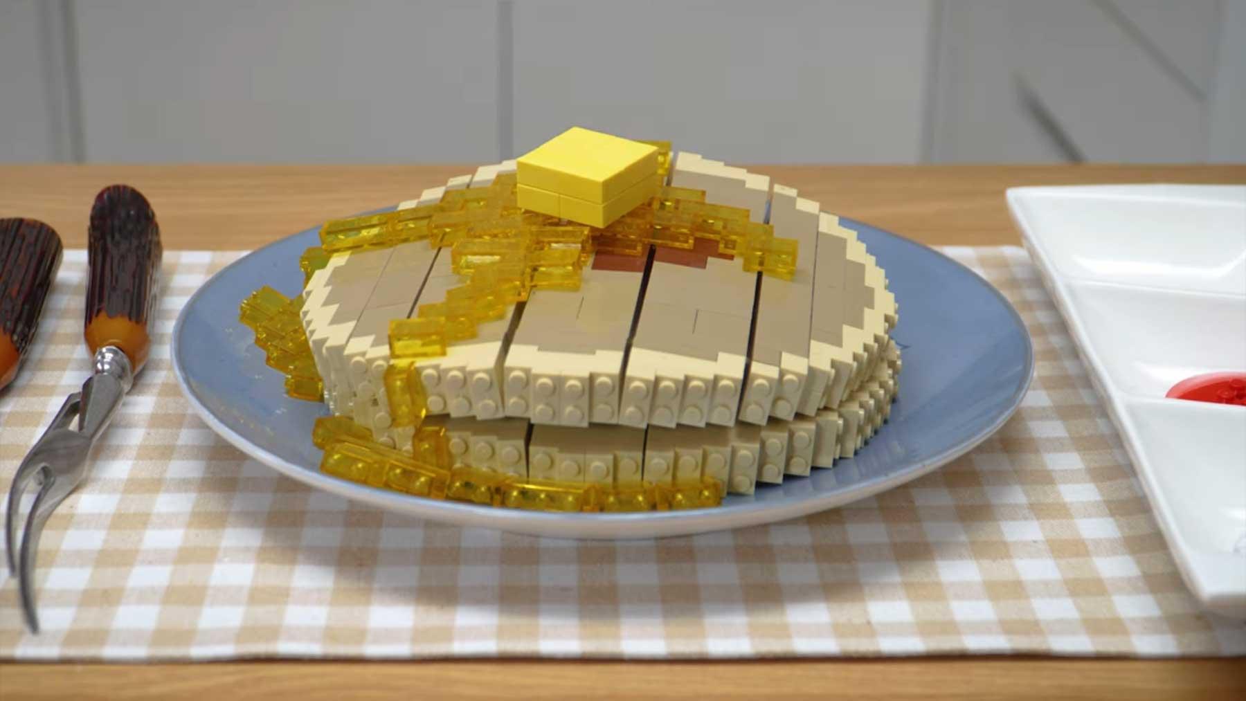Bebop macht uns Stopmotion-Pfannkuchen aus LEGO