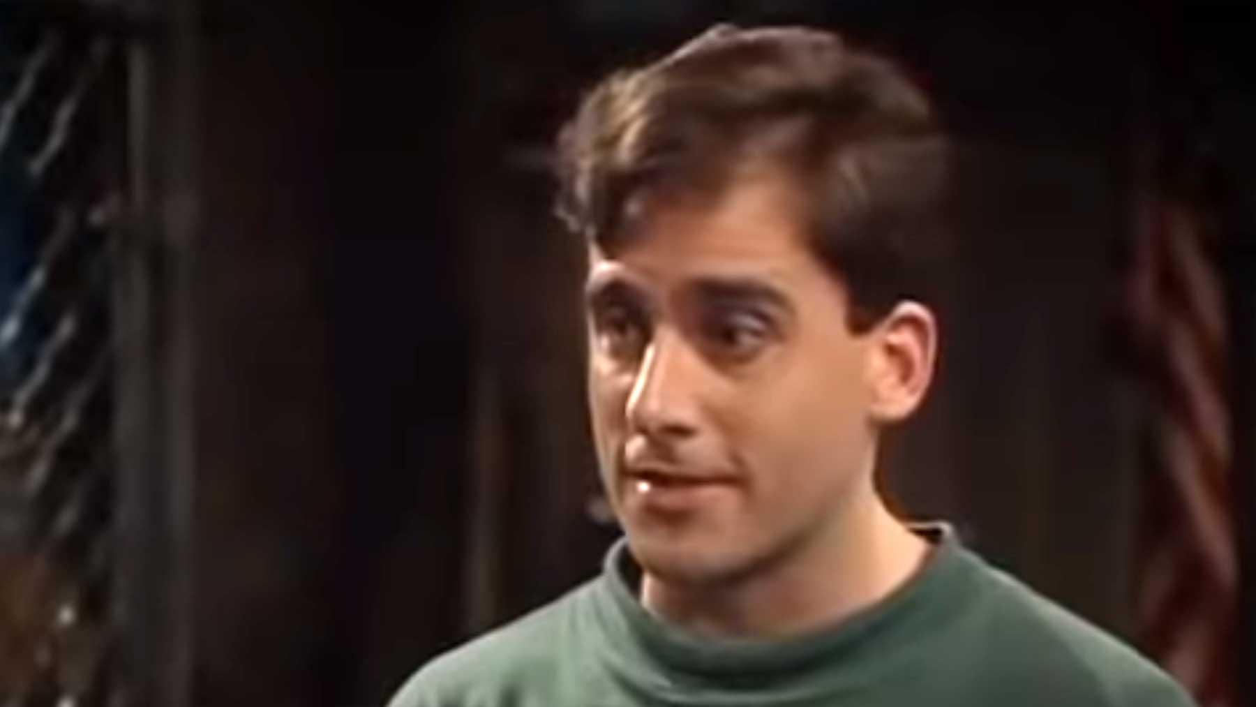 Steve Carrell in einem Sketch aus dem Jahr 1994 steve-carell-1994-sketch-comedy
