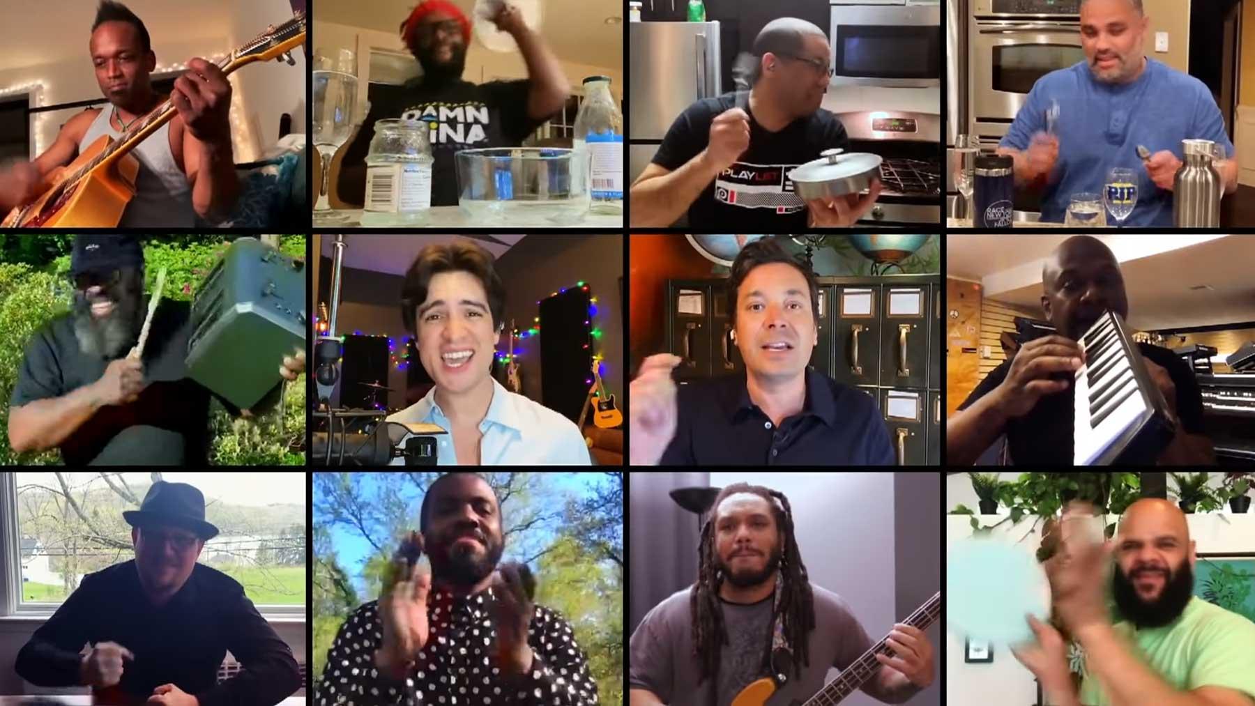 "Brendon Urie, Jimmy Fallon & The Roots spielen ""Under Pressure"" under-pressure-brendon-urie-cover"