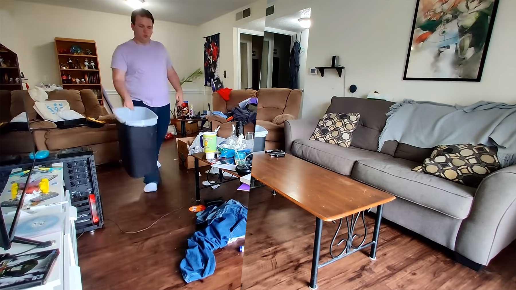 Wohnung aufräumen im Schnelldurchlauf