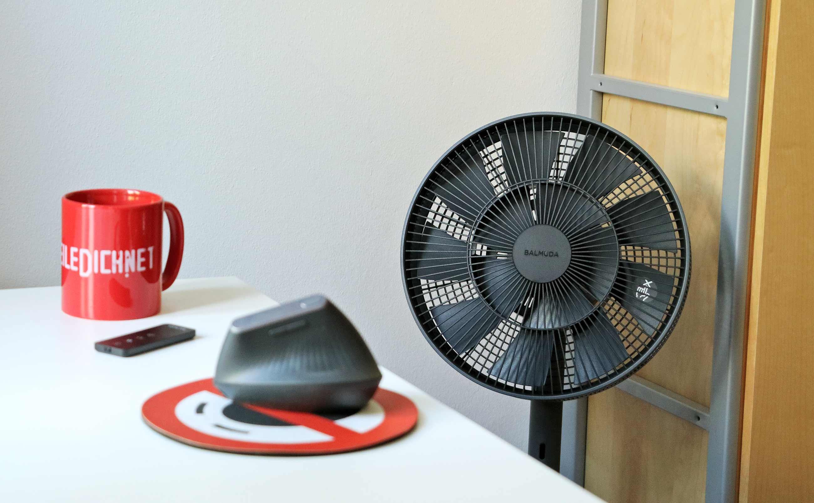 """Testbericht: Design-Ventilator """"The GreenFan"""" von BALMUDA"""