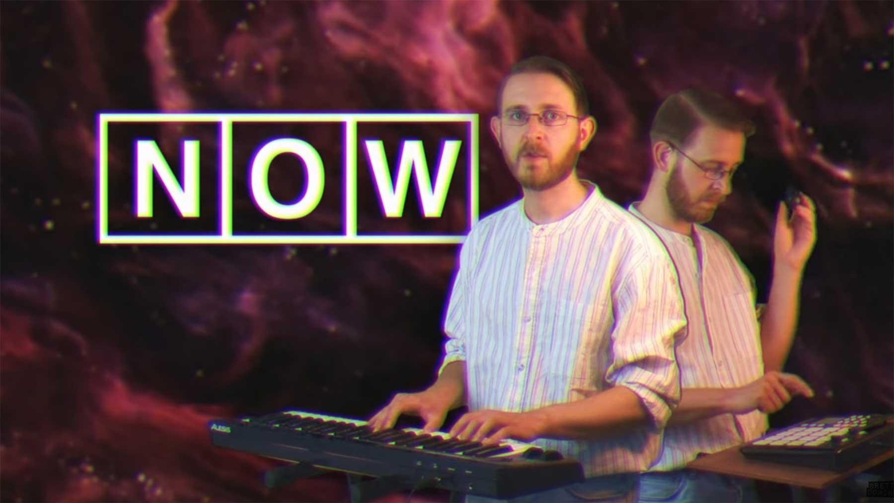 Dieses Lied besteht nur aus Worten mit drei Buchstaben bin-guy-brett-domino