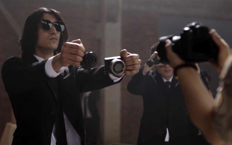 """Kameras statt Schusswaffen: """"Camera Wars"""""""