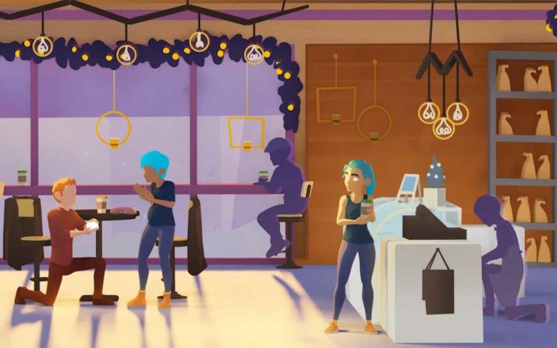 "Animierter Kurzfilm: ""Coffee Run"""