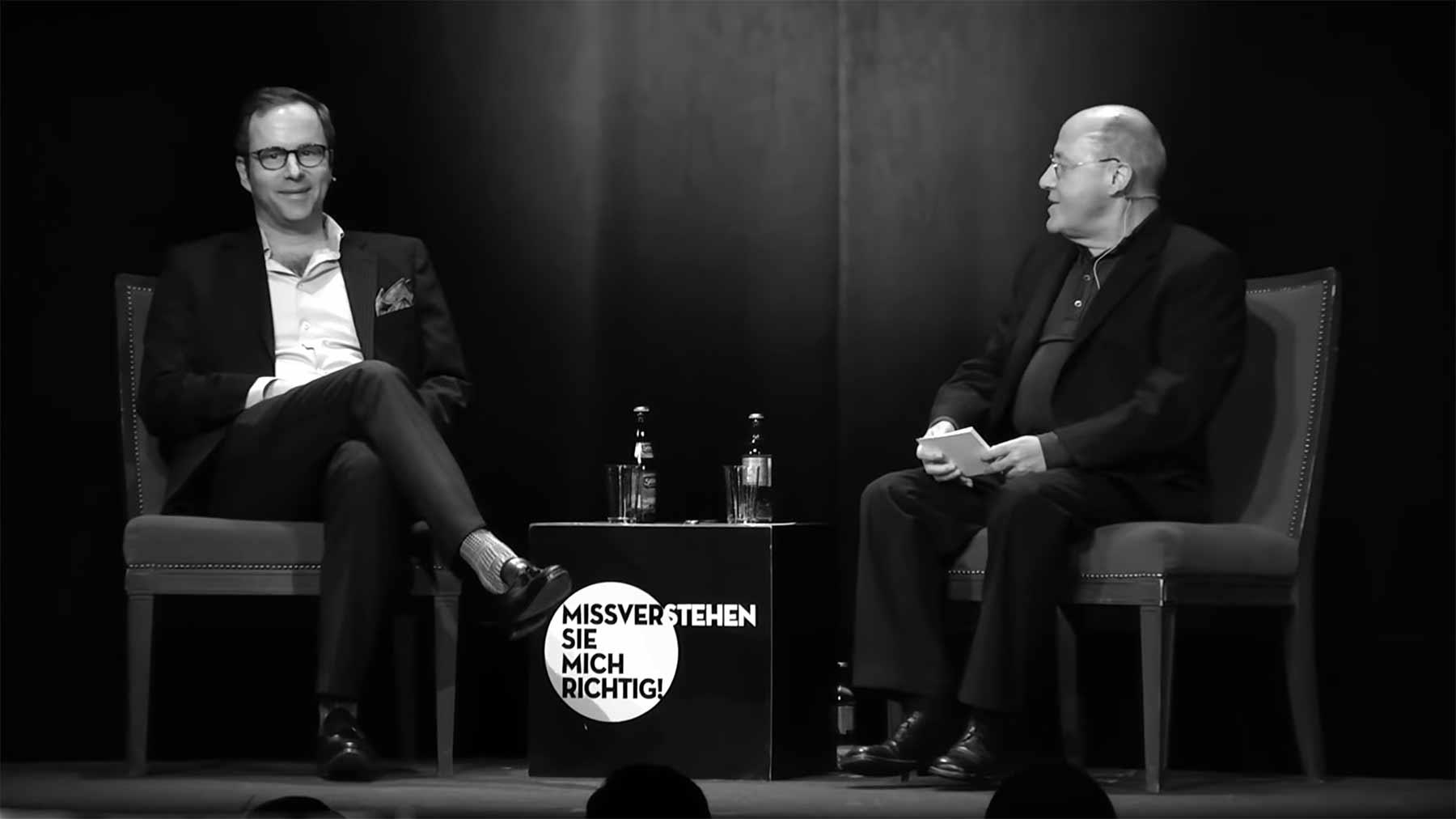 Gregor Gysi und Kurt Krömer im Gespräch