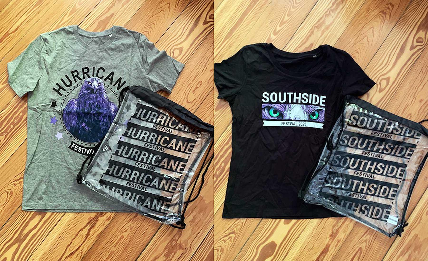 Verlosung: Merch-Pakete für Hurricane/Southside Festival 2020 hurricane-southside-festival-merchandise