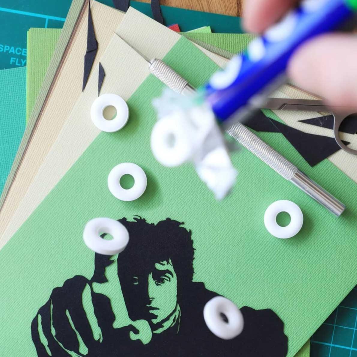 Filmszenen mit Papierschnitt von paperboyo paperboyo_filmszenen_05