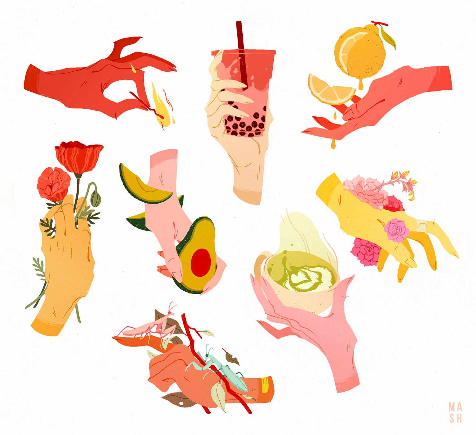 Illustrationen von Samantha Mash samantha-mash-illustrationen_06