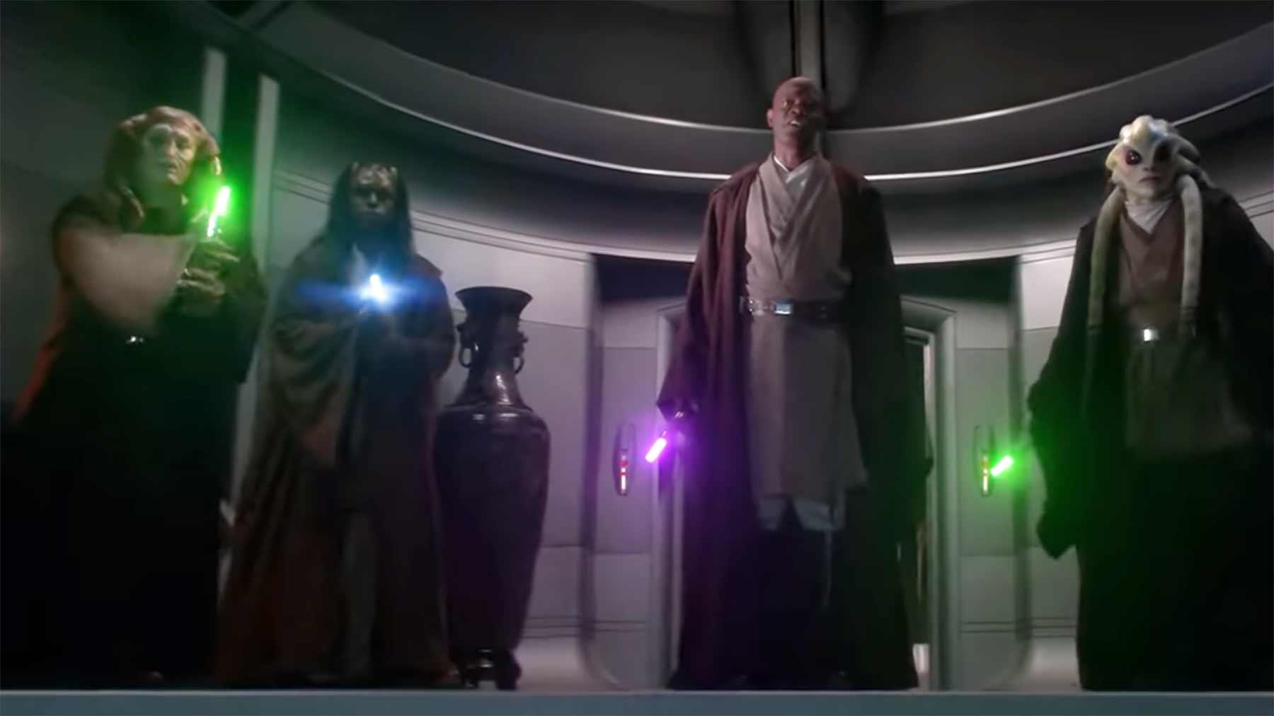 """""""Star Wars"""", aber mit ganz kleinen Lichtschwertern"""