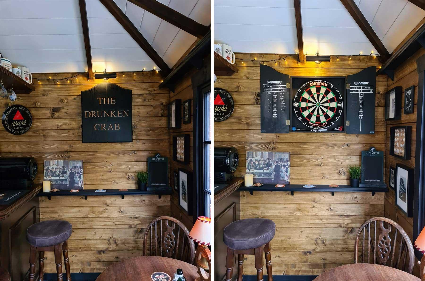 DIY-Mini-Pub im eigenen Garten gebaut the-drunken-crab-privater-pub_05