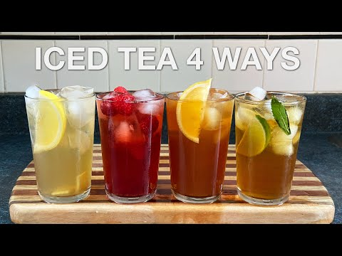 You Suck at Cooking: Iced Tea 4 Ways (Episode 112)