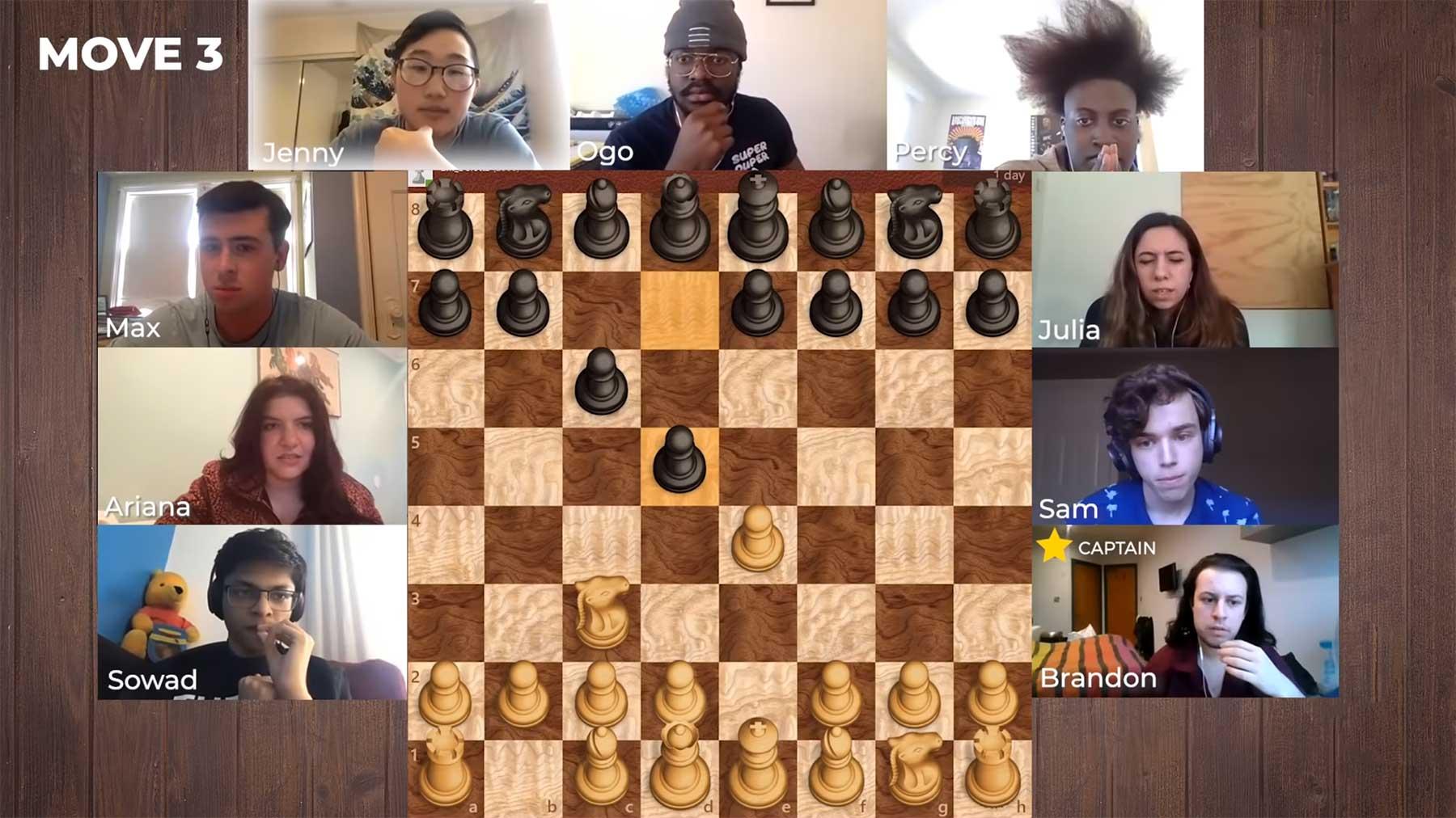 Schach: 9 Amateure gegen einen 13-jährigen Profi