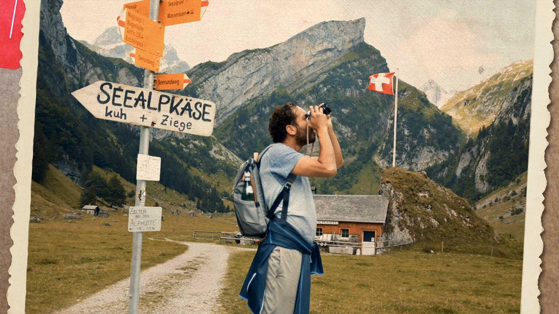 Kommt ein Touri zum Berg... ALPOCALYPSE-COW