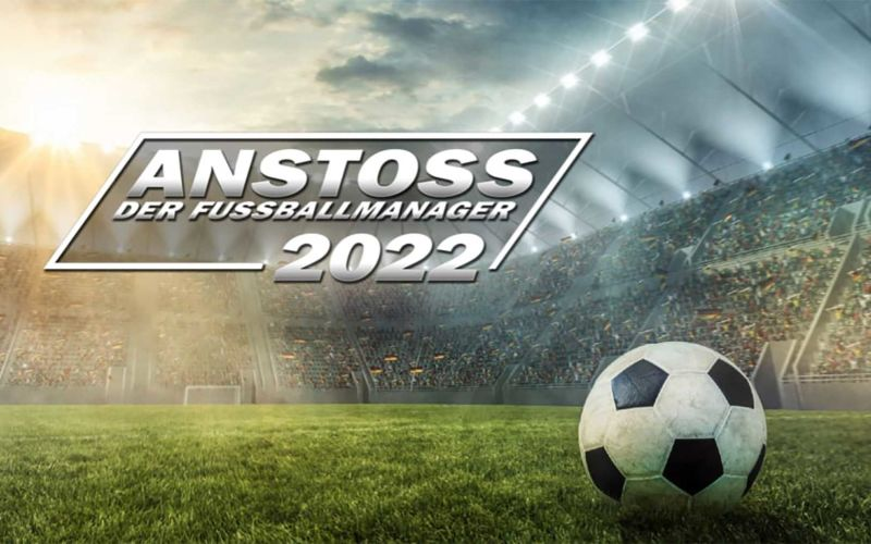 """""""Anstoss 2022 – Der Fussball-Manager"""" auf Kickstarter unterstützen"""